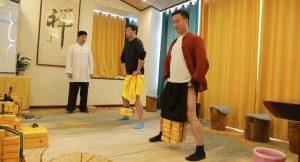 Kungfu Swinging Nuts